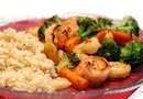 Nutritional Values of Shrimp & Broccoli Stir Fry