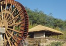 Water Wheels for Yard Landscaping