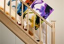 How to Hang Wall Art Above Stairs