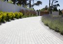 Paver Installation for a Sloped Driveway