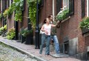 How to Hang a Flower Box on a Brick Home
