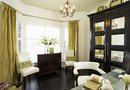 Using Taffeta Style Drapes With Contemporary Furniture