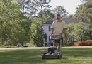 How to Cut Diagonal Lines on Your Lawn