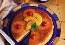 Low-Fat Pineapple Upside-Down Cake Made With Cake Mix and Applesauce