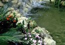 How to Create a Waterfall With a Flexible Pond Liner