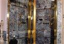 how to paint a metal shower enclosure how to change framed glass. Black Bedroom Furniture Sets. Home Design Ideas
