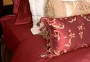 How to Make a Fabric Headboard With a Curtain Rod