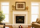 How to Whitewash a Fireplace