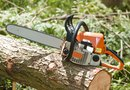 Putting a Chain on the Bar of a STIHL