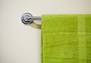 How to Hang Towels on the Back of the Bathroom Door