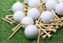 Golf Party Centerpiece Idea