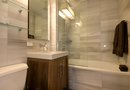 How to Put a Shower & Bath in a Small Bathroom