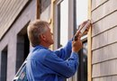 How to Caulk the Window Trim on Lap Siding