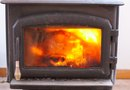 How to Hook a Stovepipe to Wood-Burning Stove