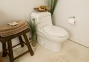 How to Install a Plastic Oval Toilet Seat