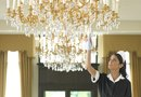 Specifications for Hanging a Large Crystal Chandelier