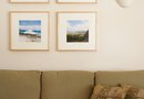Ways to Hang Multiple Picture Groupings Behind a Couch