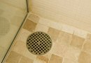 How to Raise a Shower Drain When Re-Tiling