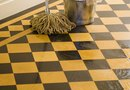 How to Remove Water Deposits From Floor Tiles