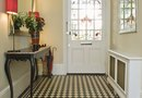 How to Design a Ceramic Tile Layout for an Entryway Using Multiple Colors
