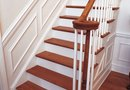 How to Make Cuts on Wainscoting on Stairs