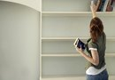 How to Make Stand-Alone Bookcases From Melamine Boards
