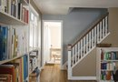 How to Decide Where to Stop Painting a Room Attached to a Staircase