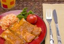 Low-Carb Chicken Enchiladas