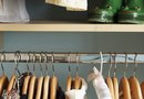 How to Hang Curtains on a Kid's Closet