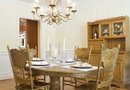 How to Arrange a Dining Room With Two Walls