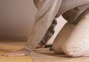 How to Install Laminate Flooring With The Existing Baseboard