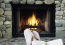 How to Make a Rock Gas Fireplace