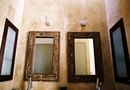 Bathroom Wall Colors With Bronze Accessories