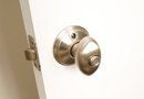 How to Open a Closed Door With a Broken Knob