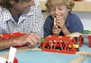 How to Decorate Around a Huge Toy Train Table
