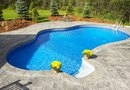 How to Decorate a Preformed Pool & Waterfall