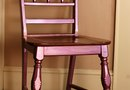 How to Refinish Chairs With Paint