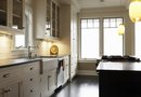 Kitchen Ideas With White Cabinets & Black Granite