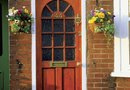 How to Keep a Freshly Painted Exterior Door From Sticking