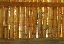 How to Install Flexible Bamboo Fencing