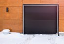 How to Open a Frozen Garage Door
