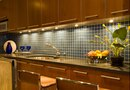 Granite Countertops and Glass Wall Tile Ideas