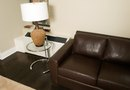 What Kind of End Tables to Pair With a Leather Sofa