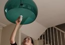 How to Put a Regular Fixture in Place of a Recessed Light