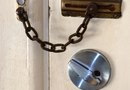 How to Replace a Front Door Lock With a Keyed Deadbolt