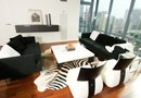 """How to Decorate a Home in Black & White: Tables, Sofas, Lamps & Decor"""