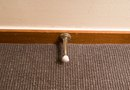 How to Install Base Board Trim for Carpet Areas