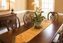 How to Decorate a Dining Room With White Woodwork & Tan Walls