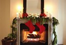 Decorating a Mantel With a Mirror Behind