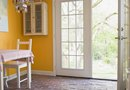 How to Decorate the Glass Panes in a French Door